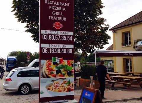 Une pizzeria Bourguignonne opte pour la farine locale !