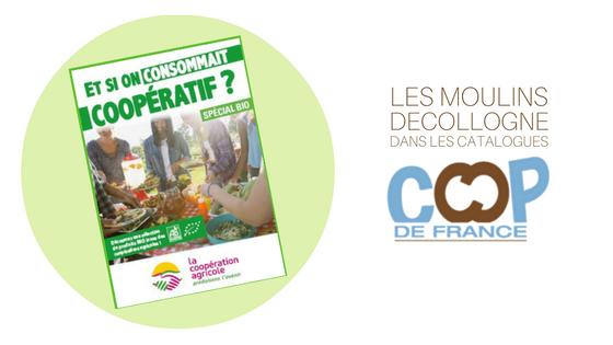Les Moulins Decollogne dans les catalogues Coop de France